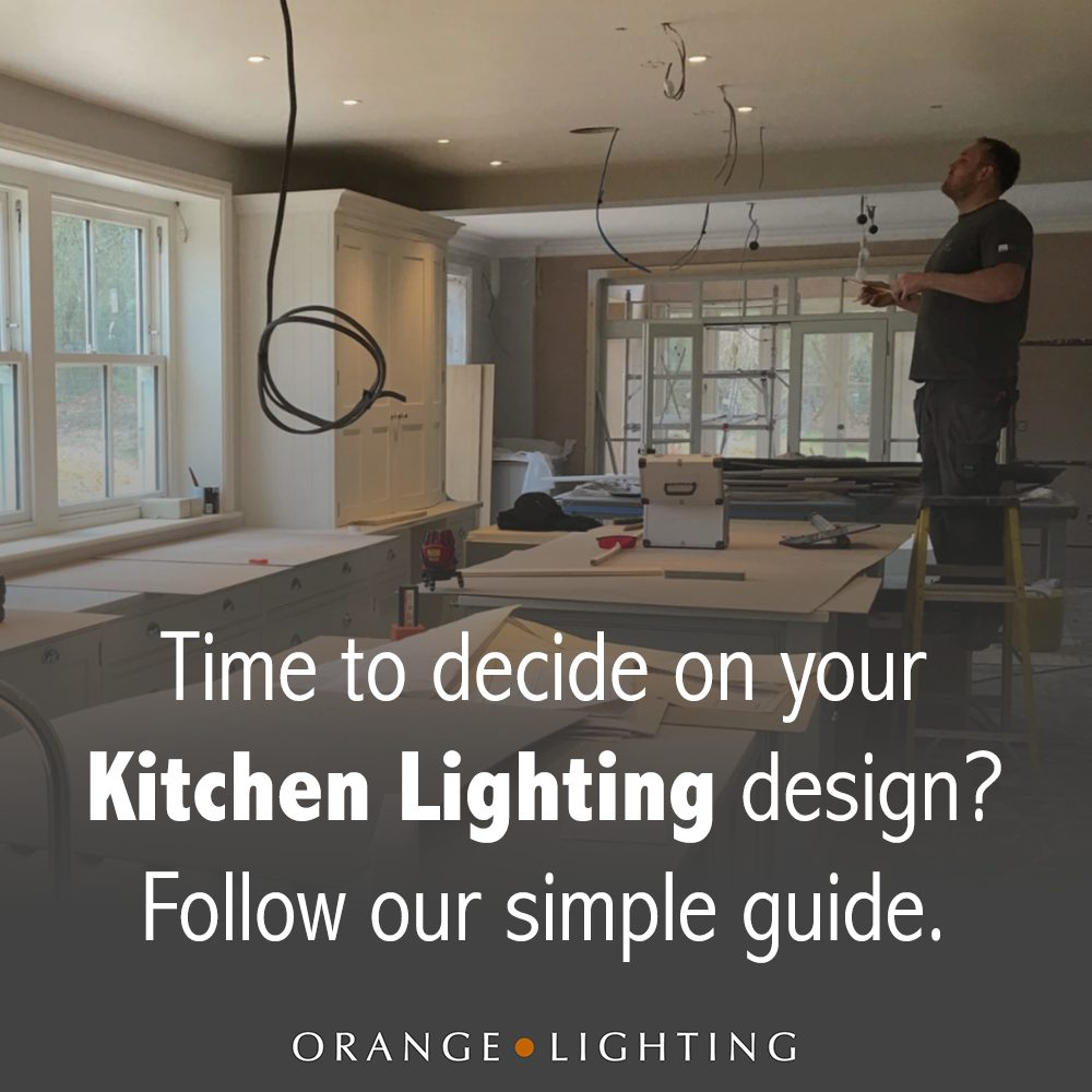 How to plan kitchen lighting