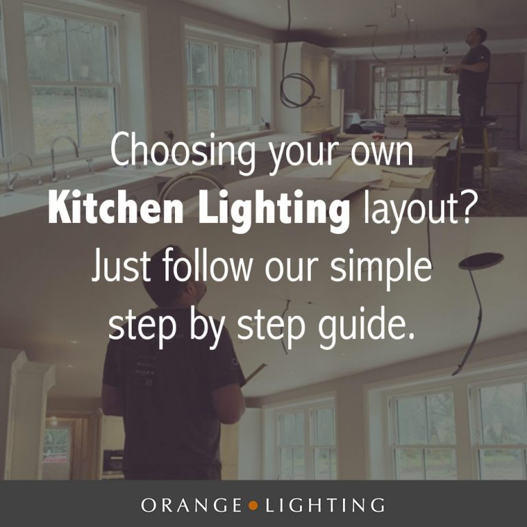 How to choose kitchen lighting - 4 step kitchen lighting design guide